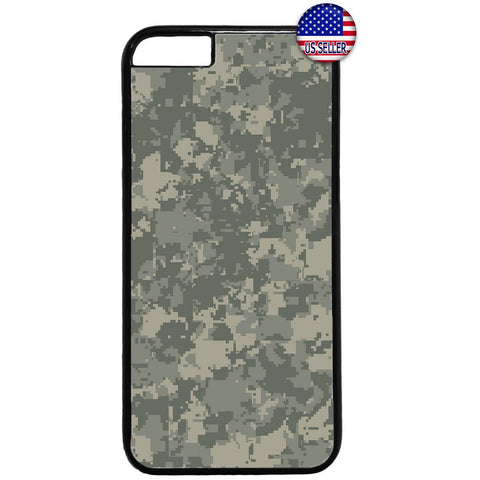 Digital Camouflage Marines Rubber Case Cover For Iphone
