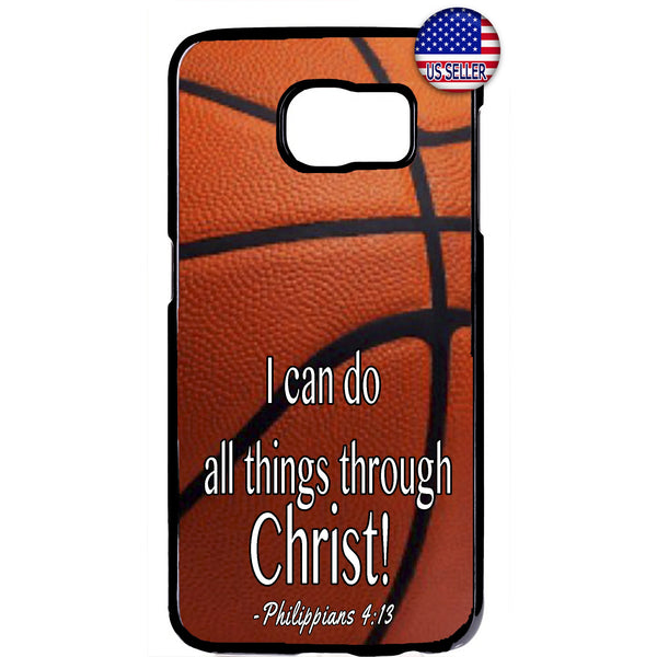 Christian Bible Verse Basketball Rubber Case Cover For Samsung Galaxy Note