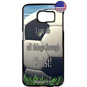 Christian Bible Verse Soccer Ball Rubber Case Cover For Samsung Galaxy Note