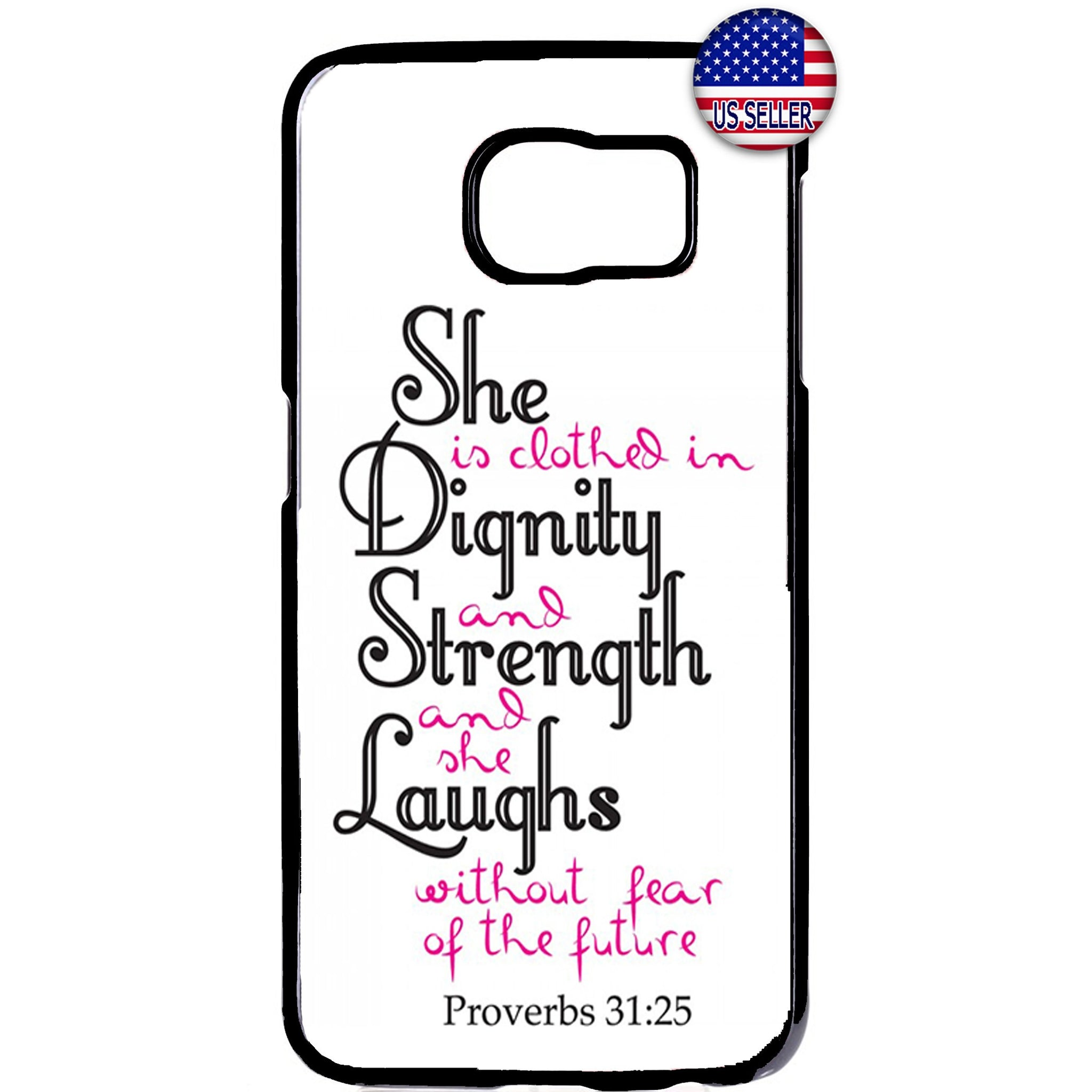 Proverbs Christian Women Bible Rubber Case Cover For Samsung Galaxy Note