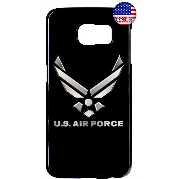 US Air Force Logo Black United States Rubber Case Cover For Samsung Galaxy Note