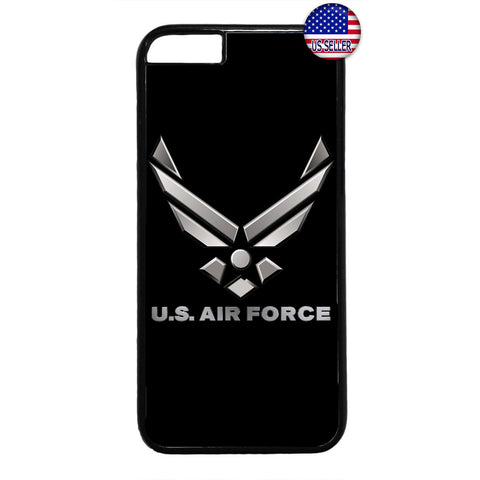 USA Air Force Logo Wings United States Rubber Case Cover For Iphone