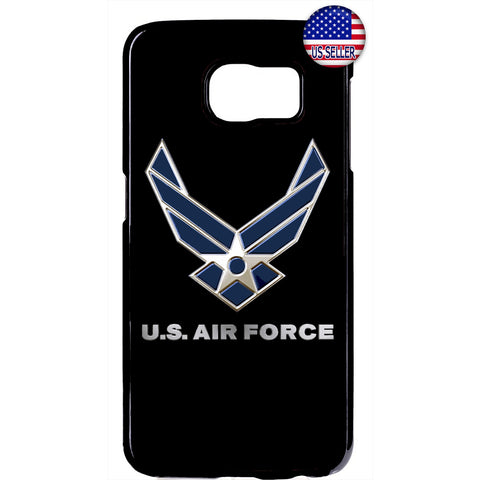 USA Air Force Logo Wings United States Rubber Case Cover For Samsung Galaxy