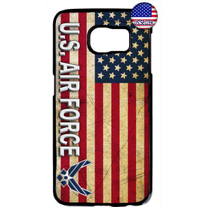 US Air Force USA Flag Logo United States Rubber Case Cover For Samsung Galaxy