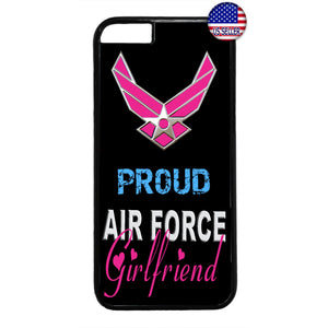 Proud Air Force Girlfriend United States Rubber Case Cover For Iphone