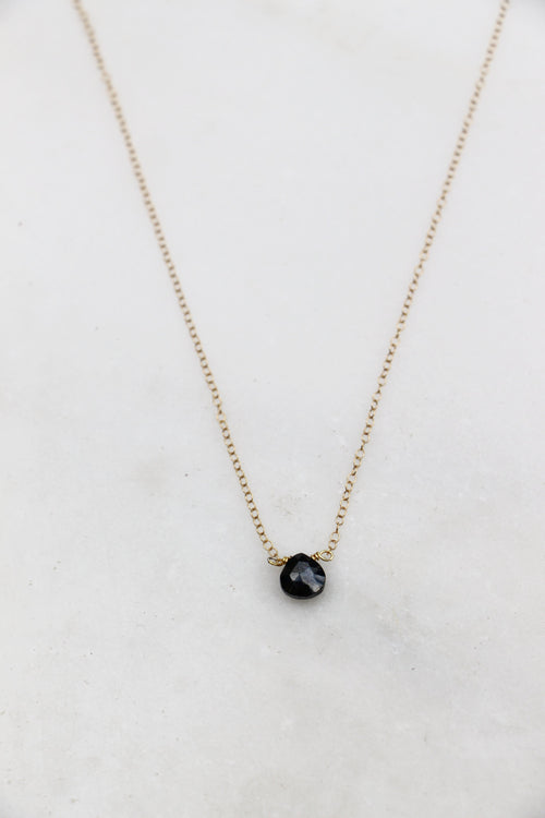 Pyrite Bead on chain