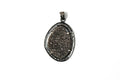 Druzy Pendant with Diamond Pave