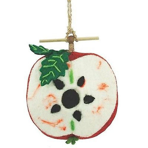 Felt Birdhouse - Apple Handmade and Fair Trade