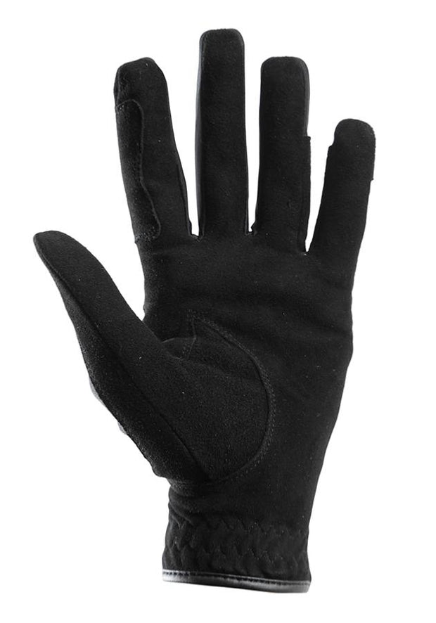 Milania Ladies Suede Horse Riding Gloves