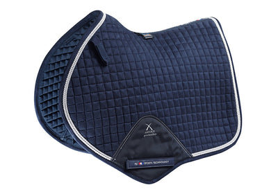 Techno-Suede Close Contact Saddle Pad, Show Jumping Saddle Pad, Premier Equine - Laura's Tack Room