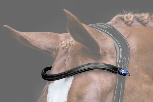 U-Shaped Plain Browband, Browband, Ps of Sweden - Laura's Tack Room
