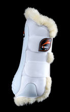 eKur Luxury with Fluffy FRONT dressage boots, Dressage Horse Boots, eQuick - Laura's Tack Room
