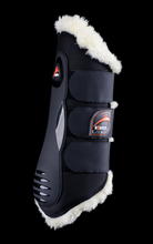 eKur Luxury with Fluffy REAR dressage boots, Dressage Horse Boots, eQuick - Laura's Tack Room