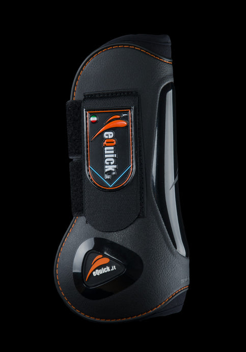 eLight Front open jumping boot, Show Jumping Boots, eQuick - Laura's Tack Room