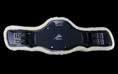 ePearl Dressage Girth with Lamb wool, Dressage Girth, eQuick - Laura's Tack Room