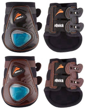 eShock Rear brushing boots, Show Jumping Boots, eQuick - Laura's Tack Room