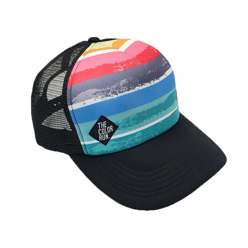Abstract Stripe Hat