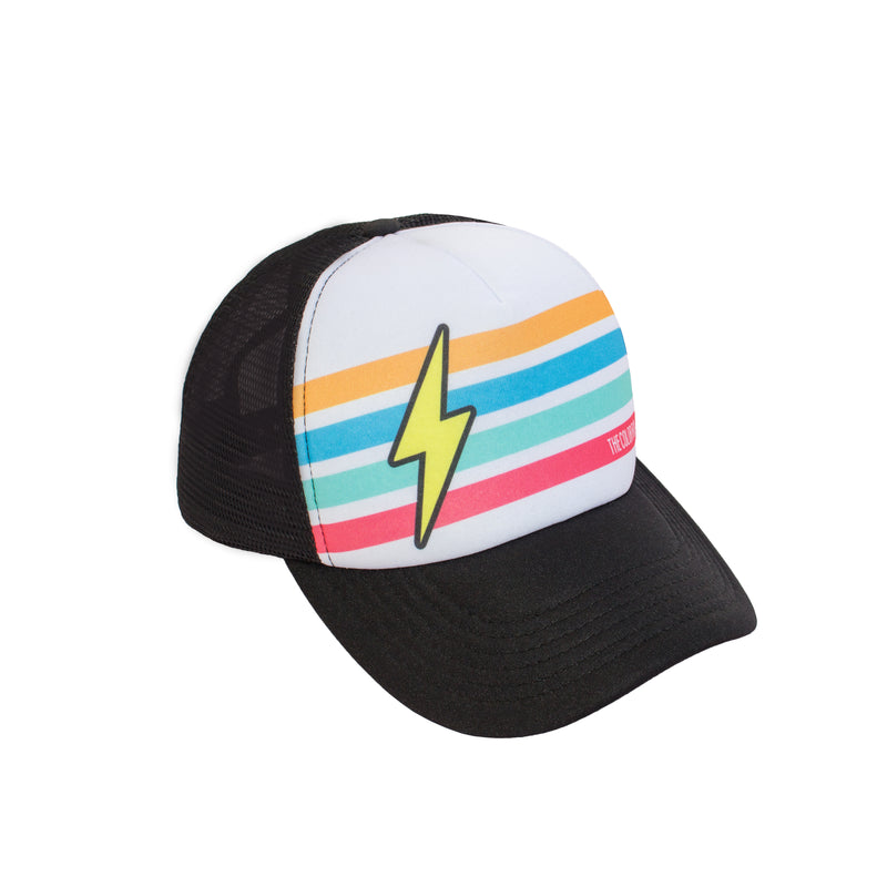 Bolt with Stripes Hat