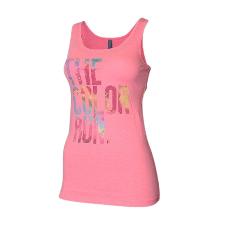Pink Color Throw Tank