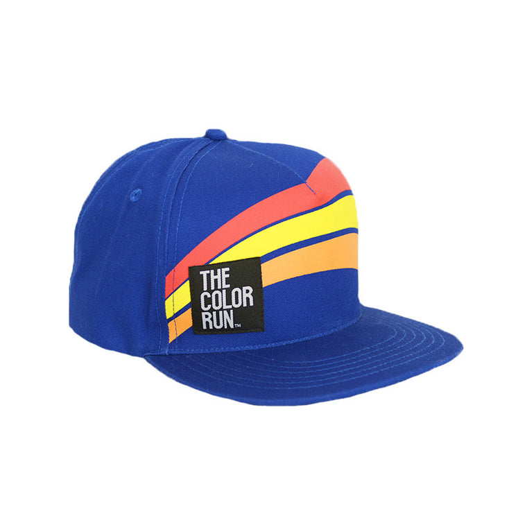Blue Swoop Hat