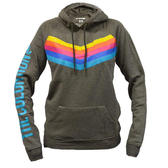 Chevron Pullover Hoodie