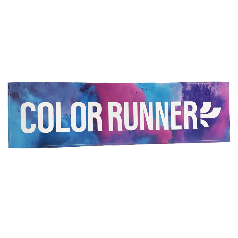 Rainbow Runner Bumper Sticker