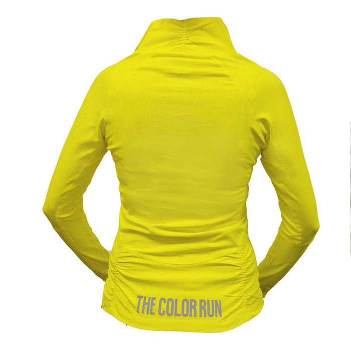 Yellow Half Zip Pullover