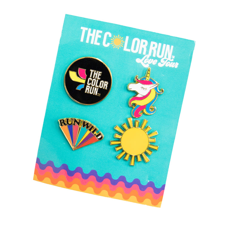 Love Tour Enamel Pins