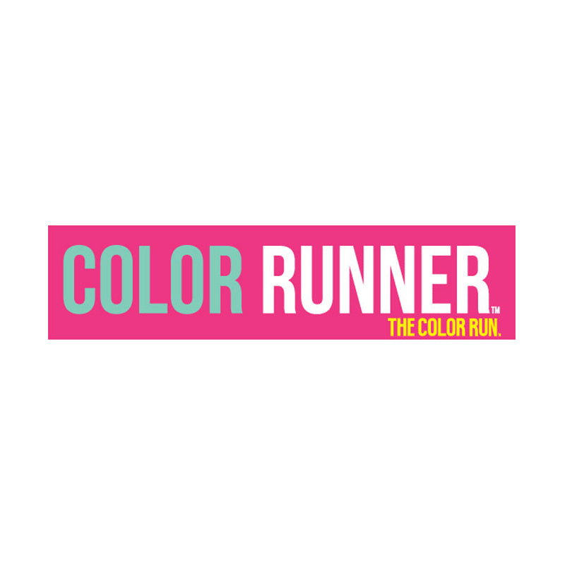 Pink Runner Bumper Sticker
