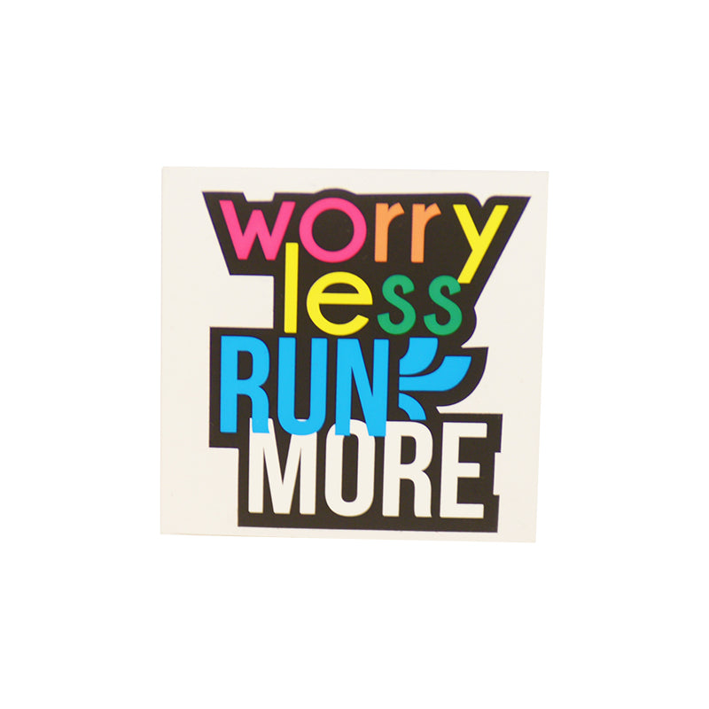 Worry Less Die Cut Sticker
