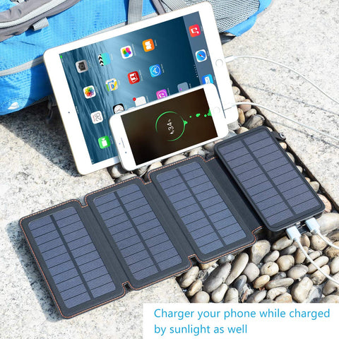 portable camping solar charger
