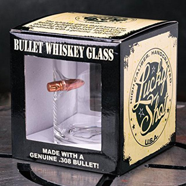 James Bonds Bullet Glass