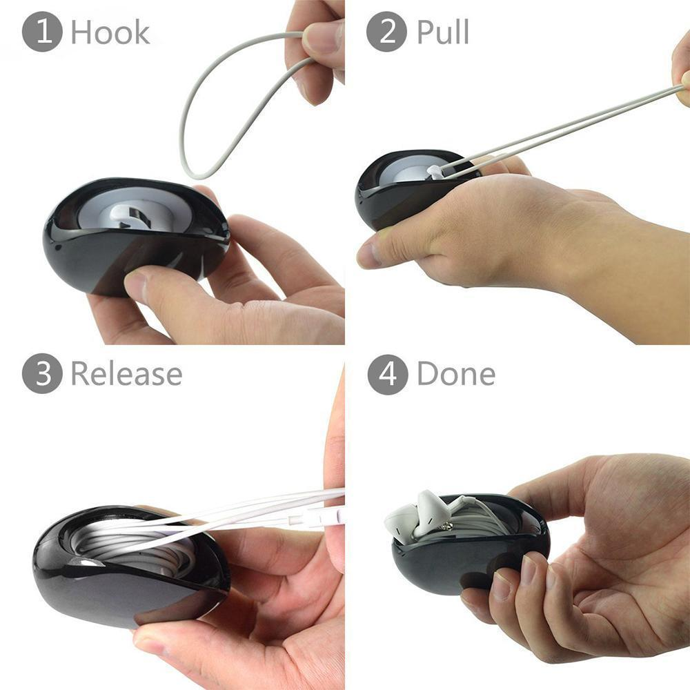 Tangle-Free Portable Cord Winder