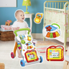 Sit to Stand Baby Learning Walker for Infant Boys Girls and Toddlers – Learning Activity Walker for Babies and Children