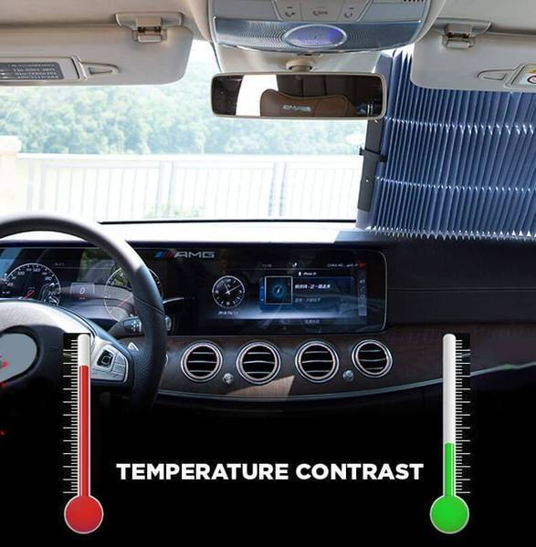 Retractable Car Visor, Voorruit Zonneschermen, FIRSTPLUS Car's Styling Store, Live Your Expression