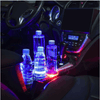 LED Car Luminous Cup Coaster, Drankjes Houders, car unique Store, Live Your Expression