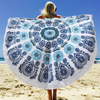 Classy, Custom and Personalized Large Round Bohemian Blanket Beach Towel
