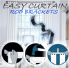Easy Curtain Rod Brackets