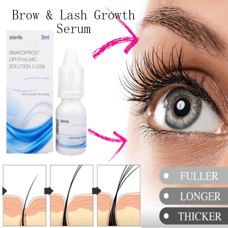 8eb531d8f20 Eyebrow & Eyelash Growth Serum - Live Your Expression