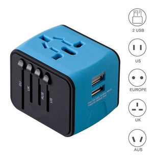 All-In-One Universal Travel Adapter, Internationale Plug Adapter, LONGET Official Store, Live Your Expression
