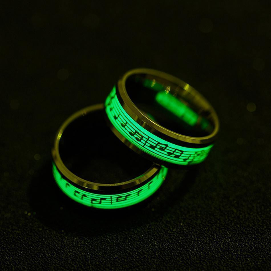 Glow In The Dark Music Ring