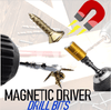 Magnetic Driver Drill Bits !