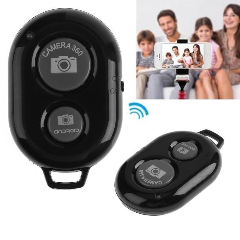 Wireless Bluetooth Camera Shutter Remote Control for Smartphones