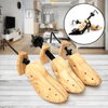 Wooden Shoe Stretcher, Expander, and Widener for Men and Women