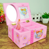 Ballerina Musical Jewelry Box for Kids Little Girls and Children