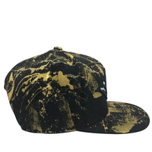 Hat - Unique hand painted / Gold
