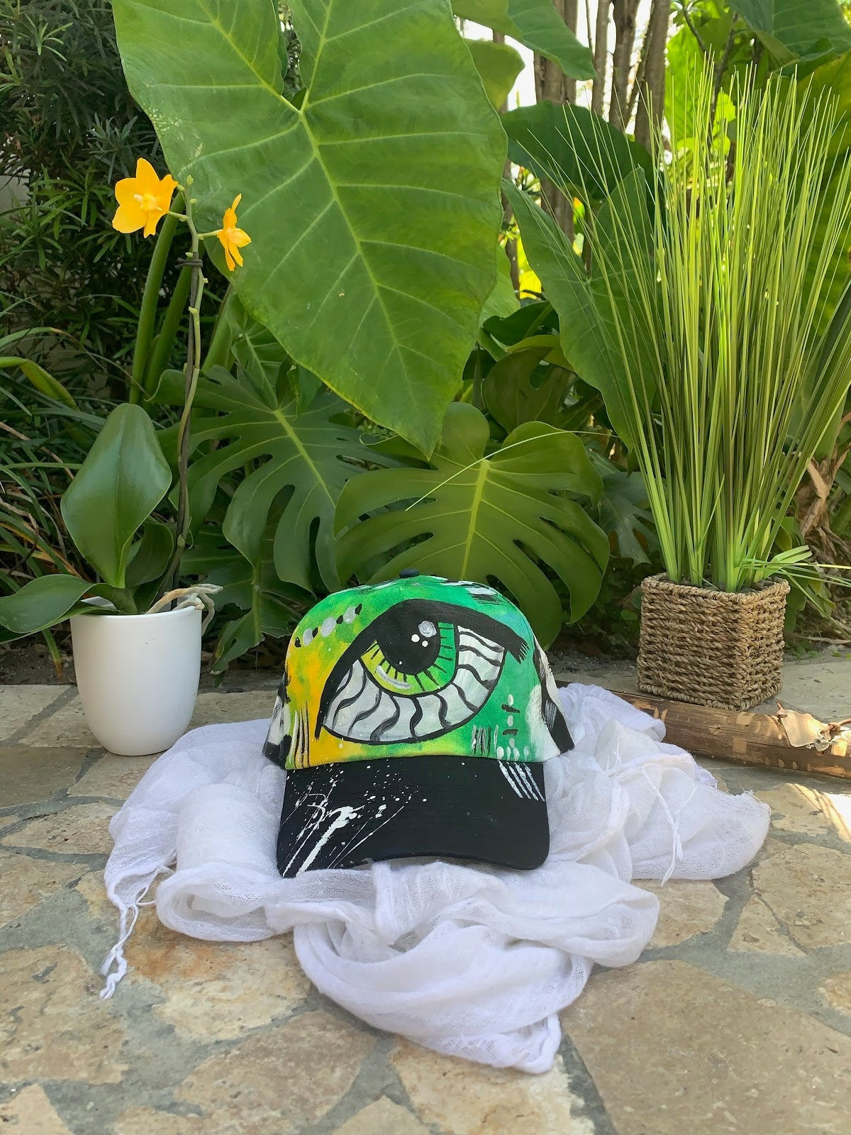 One Of The Kind Hand Painted hat