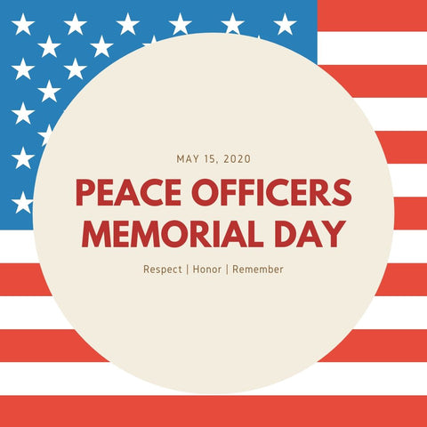 peace officers memorial day 2020