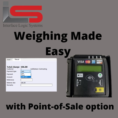 truck scale ticketing credit card payments