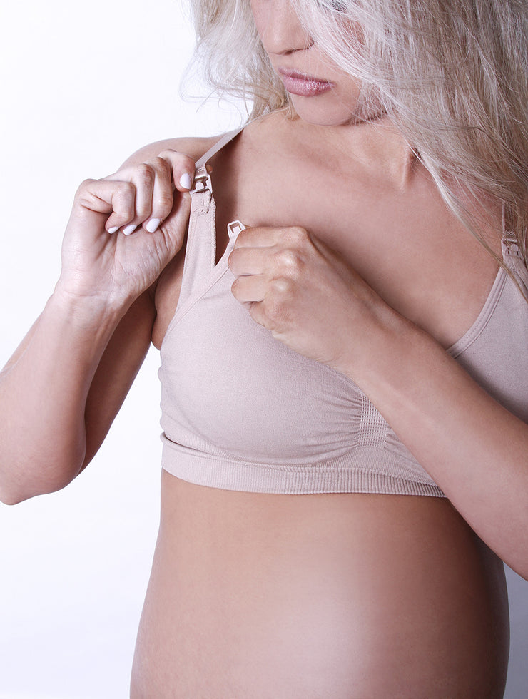 Grow With Me Maternity + Nursing Bra by Coobie